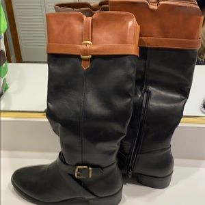 Boots black and brown